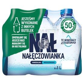 Nałęczowianka Naturalna woda mineralna niegazowana 6 x 1 l