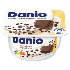 Danio Serek homogenizowany z kawałkami czekolady 130 g