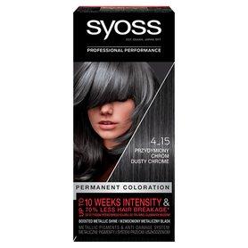 Syoss Farba do włosów przydymiony chrom 4-15