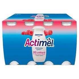 Actimel Mleko fermentowane o smaku malinowym 800 g (8 x 100 g)