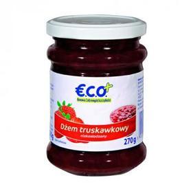 €.C.O.+ dżem truskawkowy o obniżonej zawartości cukru 270g