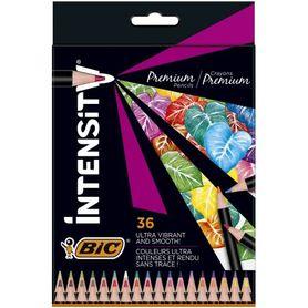 Bic Kredki ołówkowe Intensity Premium w pudełku 36 kolorów
