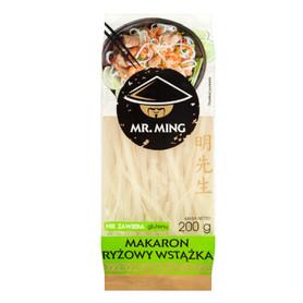 Mr. Ming Makaron ryżowy wstążka bezglutenowy 200G