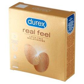 Durex Real Feel Prezerwatywy nielateksowe 3 sztuki