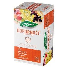 Herbapol Odporność Suplement diety herbatka ziołowo-owocowa 40 g (20 x 2 g)