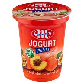 Mlekovita Jogurt Polski brzoskwinia z marakują 350 g