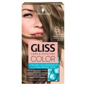 Schwarzkopf Gliss Color Farba do włosów chłodny średni blond 8-1