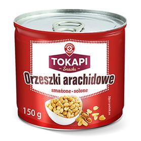 WM Orzeszki arachidowe smażone solone 150g