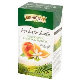 Big-Active Herbata biała brzoskwinia kwiat pomarańczy 30 g (20 x 1,5 g)