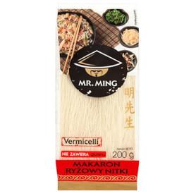 Mr. Ming Makaron ryżowy nitki bezglutenowy 200 g