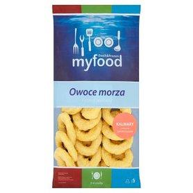 MyFood Owoce morza Kalmary pierścienie panierowane 500 g