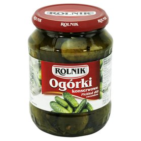 Rolnik Ogórki konserwowe 660 g