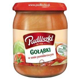 Pudliszki Gołąbki w sosie pomidorowym 500 g