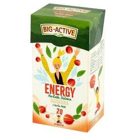 Big-Active Energy Herbata zielona guarana z yerba mate 30 g (20 x 1,5 g)