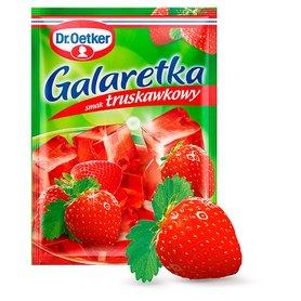 Dr. Oetker Galaretka o smaku truskawkowym 77 g