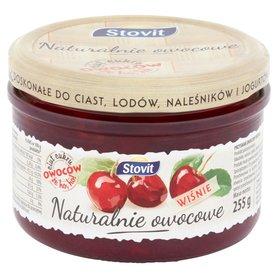 Stovit Naturalnie owocowe Wiśnie 255 g