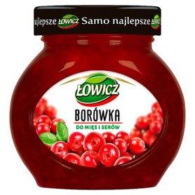 Łowicz Borówka do mięs i serów 230 g