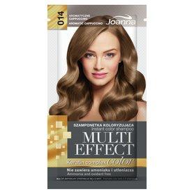 Joanna Multi Effect color Szamponetka koloryzująca aromatyczne cappuccino 014 35 g