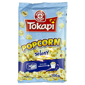 WM Popcorn solony 100g