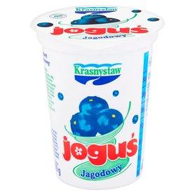 Krasnystaw Joguś Jogurt jagodowy 400 g