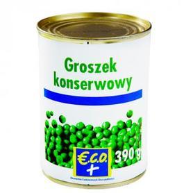 €.C.O.+  Groszek konserwowy 390g