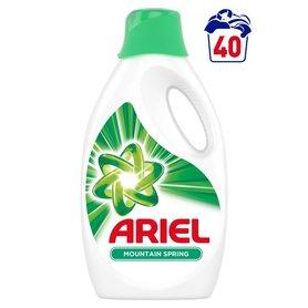 Ariel Mountain Spring Płyn do prania, 2.2l, 40 prań