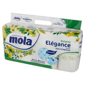 Mola Elégance Botanic Papier toaletowy 8 rolek
