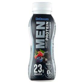 Bakoma Men Jogurt z wysoką zawartością protein owoce leśne 230 g