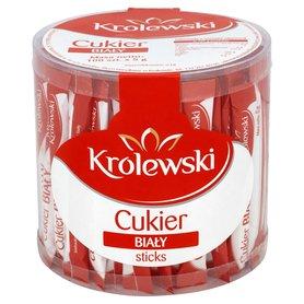 Cukier Królewski Cukier biały Sticks 100 x 5 g