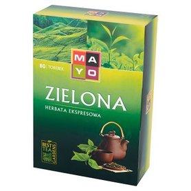 Mayo Zielona Herbata ekspresowa 136 g (80 torebek)