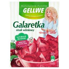 Gellwe Naturalnie Pyszne Galaretka smak wiśniowy 75 g