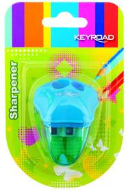 Keyroad Temperówka Plastikowa Podwójna Blister
