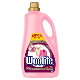 Woolite Płyn do prania delikatne tkaniny i wełna 3,6 l 60 prań