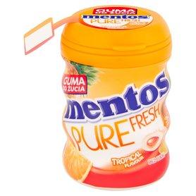 Mentos Pure Fresh Tropical Guma do żucia bez cukru 60 g (30 sztuk)