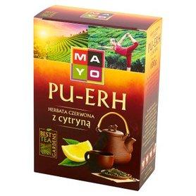 Mayo Pu-Erh Herbata czerwona z cytryną 100 g