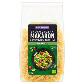 NaturAvena Ekologiczny makaron z pszenicy durum świderki 250 g