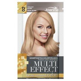 Joanna Multi Effect color Szamponetka koloryzująca perłowy blond 02 35 g