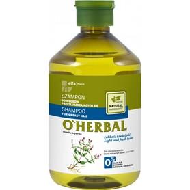 O'HERBAL  Szampon do włosów przetłuszczających 500 ml