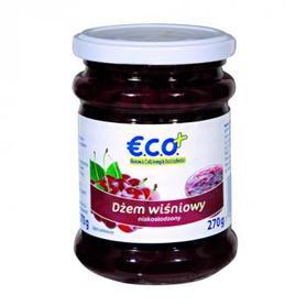 €.C.O.+ dżem wiśniowy  o obniżonej zawartości cukru  270g