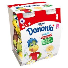 Danone Danonki Jogurt banan 400 g (4 x 100 g)