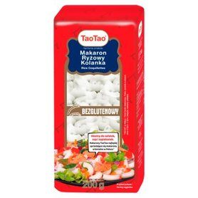 Tao Tao Makaron ryżowy kolanka 200 g