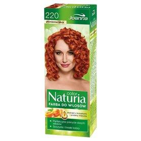 Joanna Naturia color Farba do włosów płomienna iskra 220