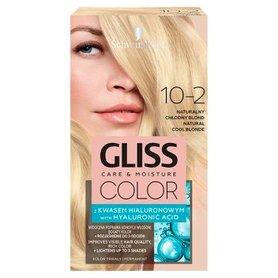 Schwarzkopf Gliss Color Farba do włosów naturalny chłodny blond 10-2