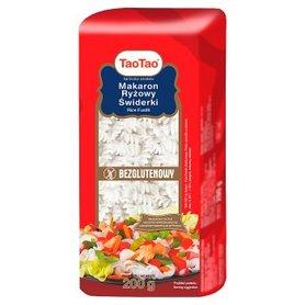 Tao Tao Makaron ryżowy świderki 200 g