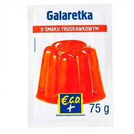 €.C.O.+ galaretka o smaku truskawkowym 75g