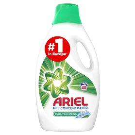 Ariel Mountain Spring Płyn do prania, 2.64L, 48 prań