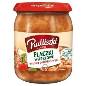 Pudliszki Flaczki wieprzowe w sosie pomidorowym 500 g