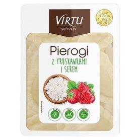 Virtu Pierogi z truskawkami i serem 400 g