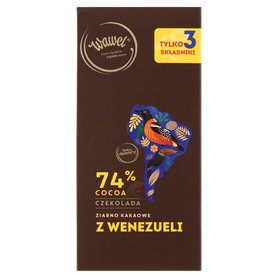 Wawel Czekolada 74% cocoa ziarno kakaowe z Wenezueli 100 g