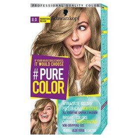 Schwarzkopf Pure Color Farba do włosów prawdziwy blond 8.0